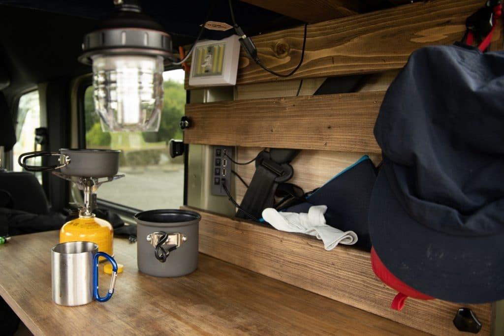 【車内泊カスタム】DIYでカスタム計画を立てる。やり方の選択肢とやることリスト